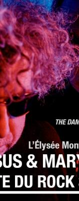 The Jesus & Mary Chain | jeudi 27 avril | Elysée Montmartre