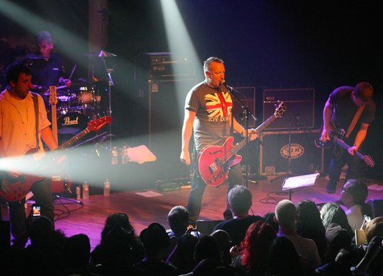 Peter Hook and the Light performing live at Mezzanine in San Francisco