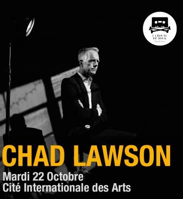 Chad Lawson | Mardi 22 octobre | La Cité Internationale des Arts