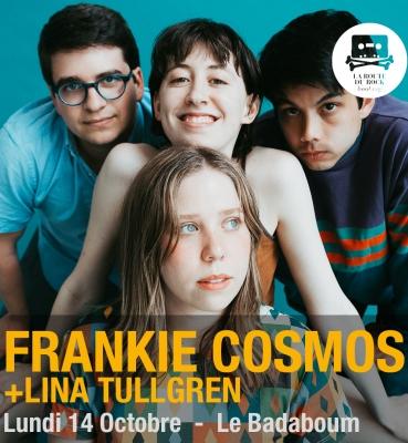 Frankie Cosmos   Lundi 14 octobre   Le Badaboum