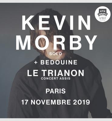 Kevin Morby (solo) + Bedouine   Dimanche 17 novembre   Le Trianon