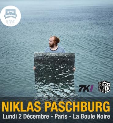 Niklas Paschburg   Lundi 2 Décembre   La Boule Noire