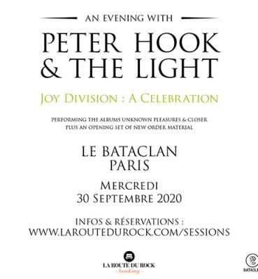 Peter Hook | Mercredi 30 septembre | Le Bataclan