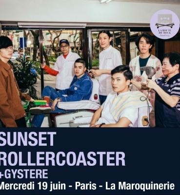 Sunset Rollercoaster | Mercredi 19 juin | La Maroquinerie